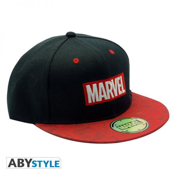 Marvel Logo Snapback Cap Marvel
