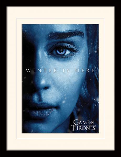 Daenerys Winter is here gerahmtes Bild Game of Thrones