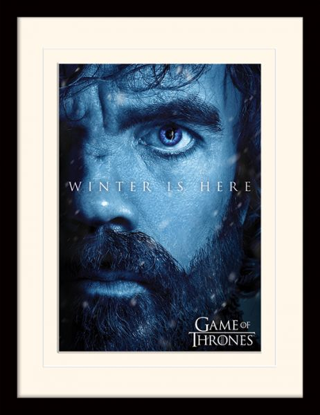 Game of Thrones: Winter is here (Tyrion), Gerahmt