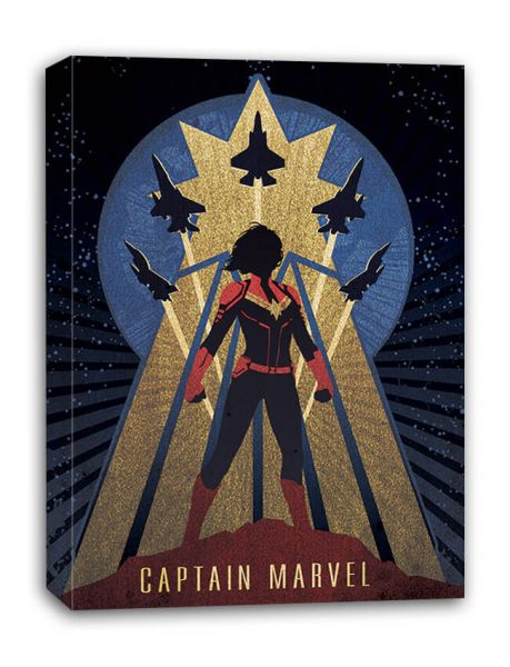Captain Marvel (Deco), Leinwandbild