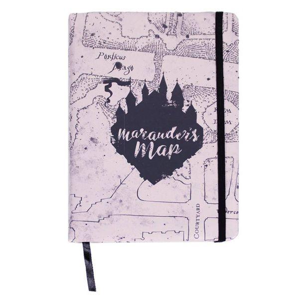 Karte des Rumtreibers Premium A5 Notizbuch Harry Potter