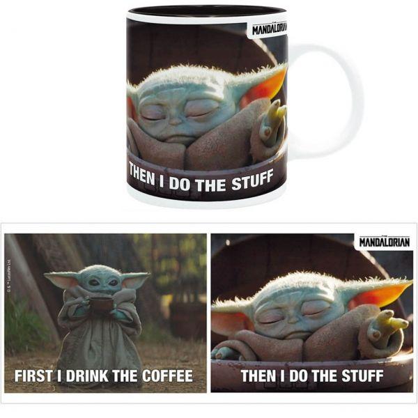 Grogu Mando Tasse Star Wars