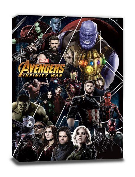 Avengers: Infinity War (Heroes Unite), Leinwandbild