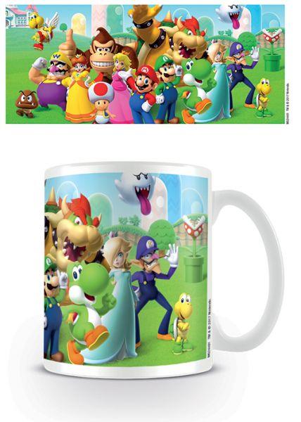 Nintendo: Super Mario (Mushroom Kingdom), Tasse