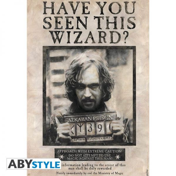 Wanted Sirius Black Maxi Poster Harry Potter