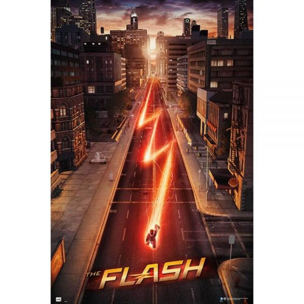 The Flash Maxi Poster DC Comics