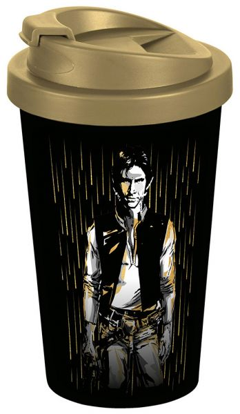 Han Solo gold To-Go-Becher Star Wars