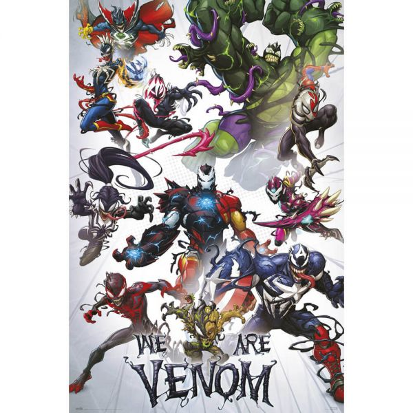 We are Venom Maxi Poster Marvel