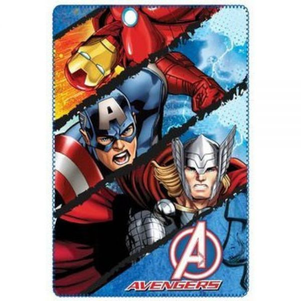 Avengers Polar Fleece Decke Marvel
