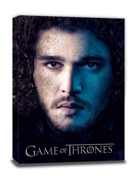Jon Season 3 Leinwandbild Game of Thrones