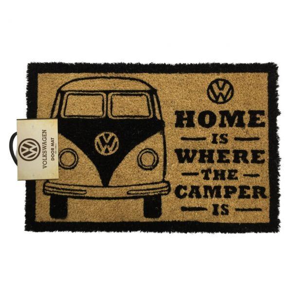 Home is Where the Camper is Fußmatte Volkswagen