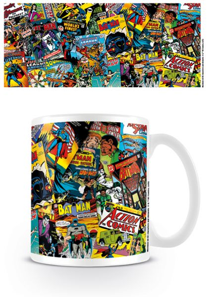 Comic Cover Tasse DC Comics