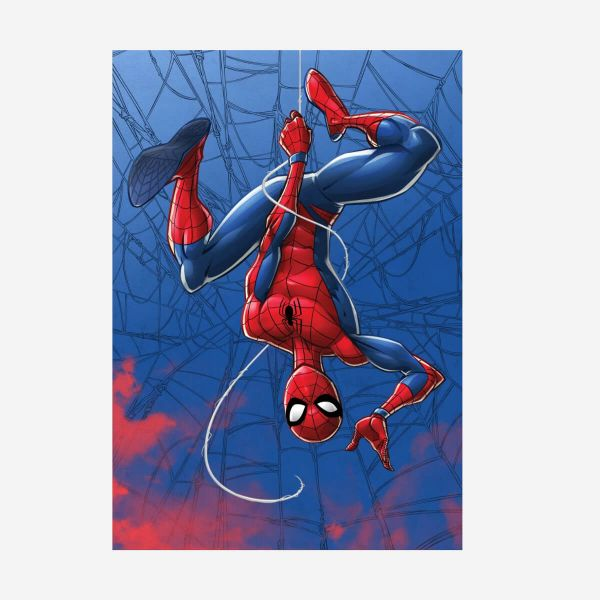 Spider-Man Mightiest Heroes Metall Poster Marvel