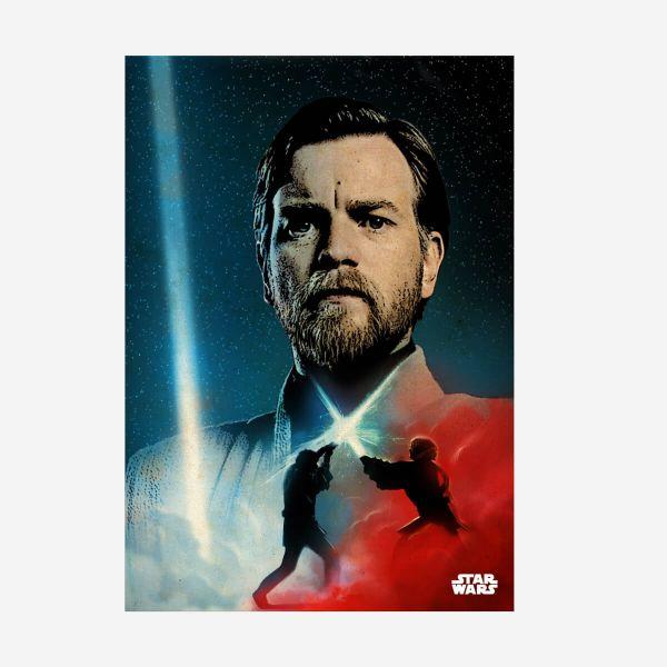 Obi-Wan Kenobi Metall Poster Star Wars