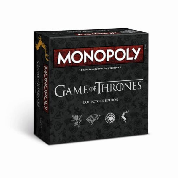 MONOPOLY Game of Thrones, Collector´s Edition, Brettspiel