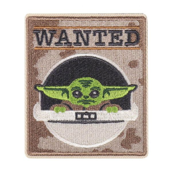 Grogu Wanted Patch Star Wars