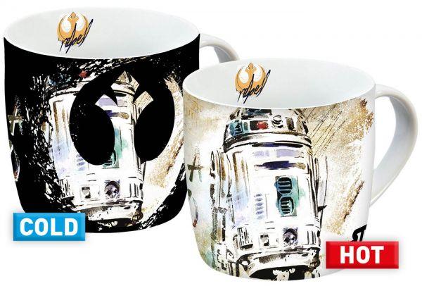 R2-D2 Episode IX Thermoeffekt Tasse Star Wars