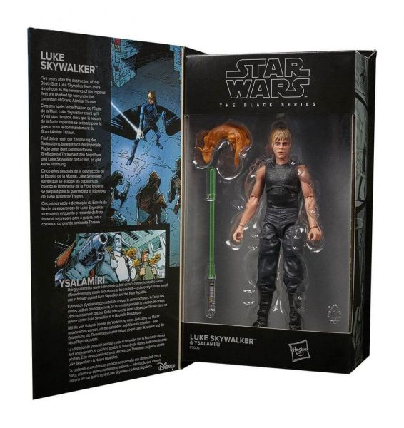 Star Wars Black Series HTTE Lucasfilm 50th Anniversary Actionfigur 2021 Luke Skywalker & Ysalamiri
