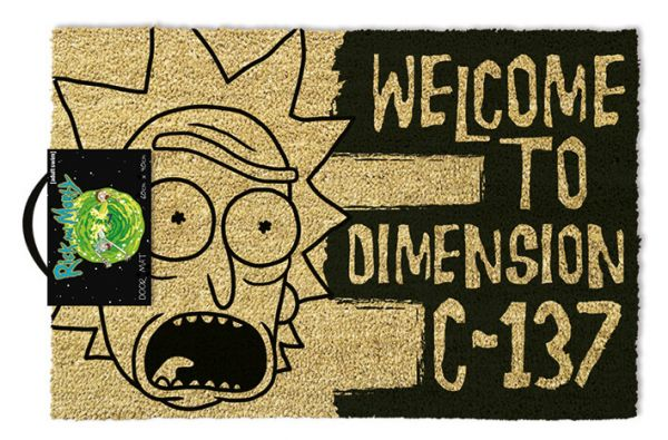 Rick & Morty (Welcome To Dimension C-137), Fußmatte
