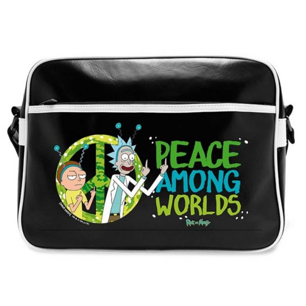 Peace Among Worlds Umhängetasche Rick and Morty