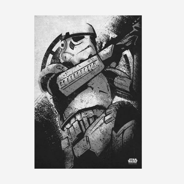 Stromtrooper Rogue One Metall Poster Star Wars