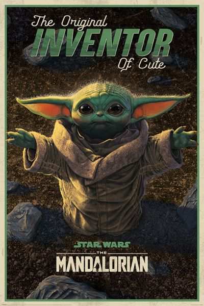 The Inventor Grogu Maxi Poster Star Wars