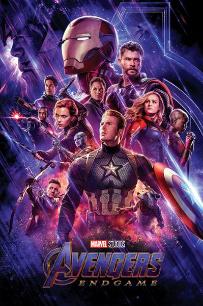 Avengers Endgame (Journeys End) Maxi Poster