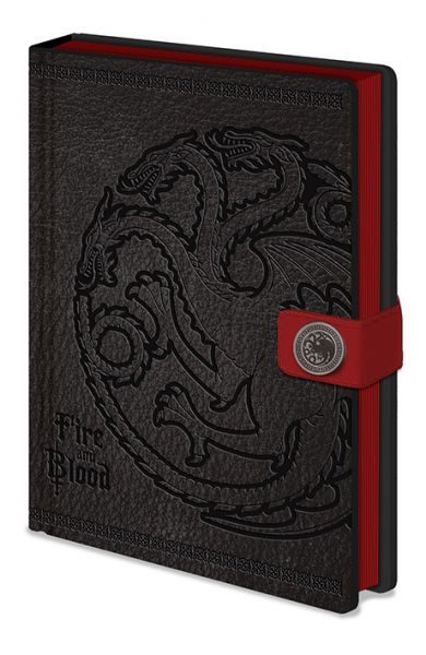Game Of Thrones: Targaryen Premium Notizbuch