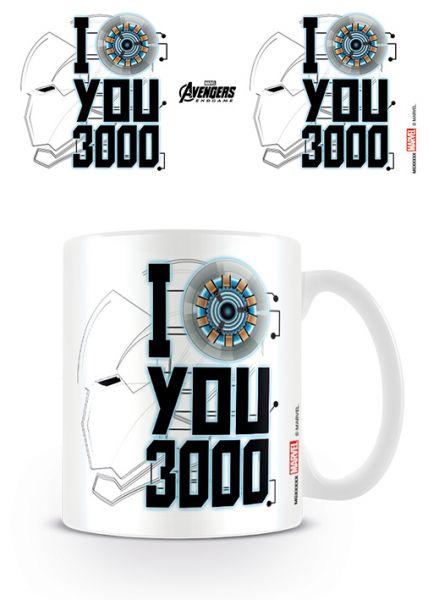 Avengers Endgame (I Love You 3000) Tasse