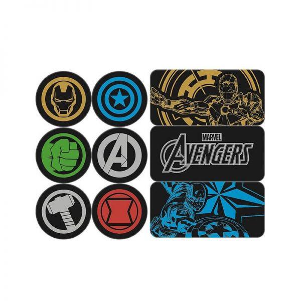 Avengers Magnet 9er-Set Marvel