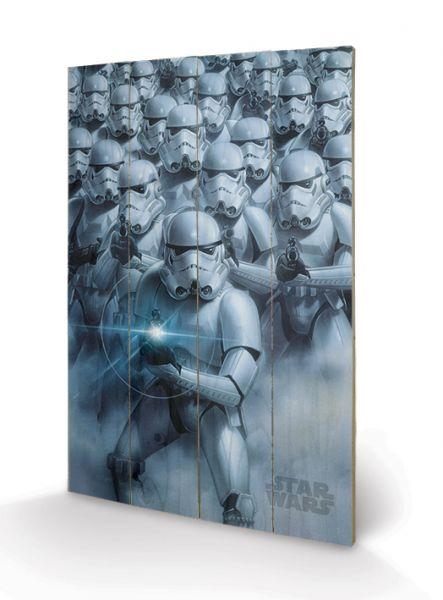Star Wars: Stormtroopers, Holzdruck