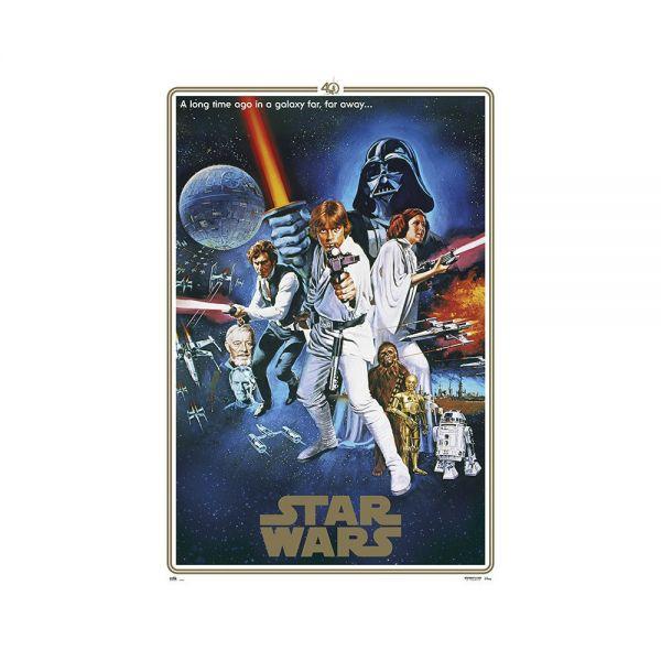 One Sheet B 40 Jähriges Jubiläum Maxi Poster Star Wars