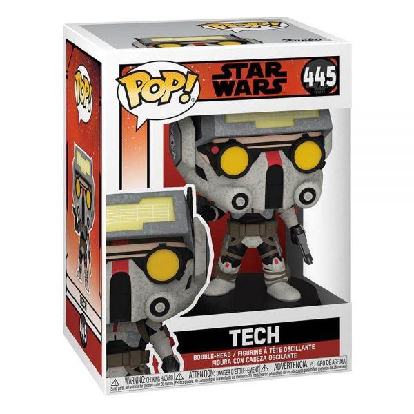 The Bad Batch POP! TV Vinyl Figur Tech 9 cm Star Wars