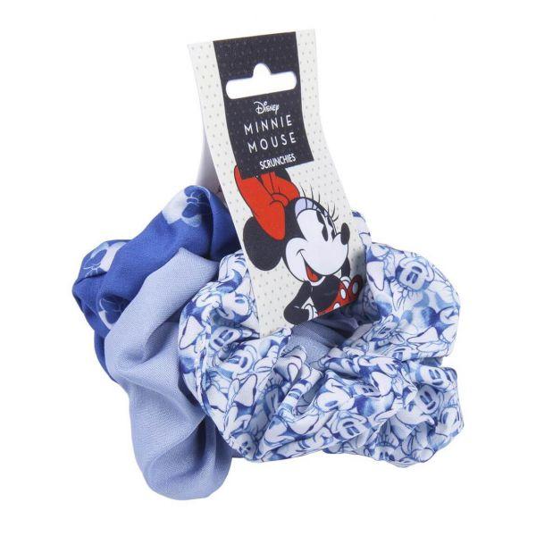 Minnie Mouse blau Classic Haargummis 3er-Set Disney