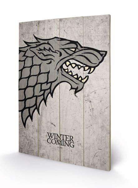 Game Of Thrones (Stark), Holzdruck