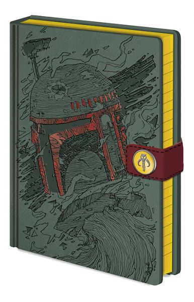 Star Wars: Boba Fett Art Premium Notizbuch A5