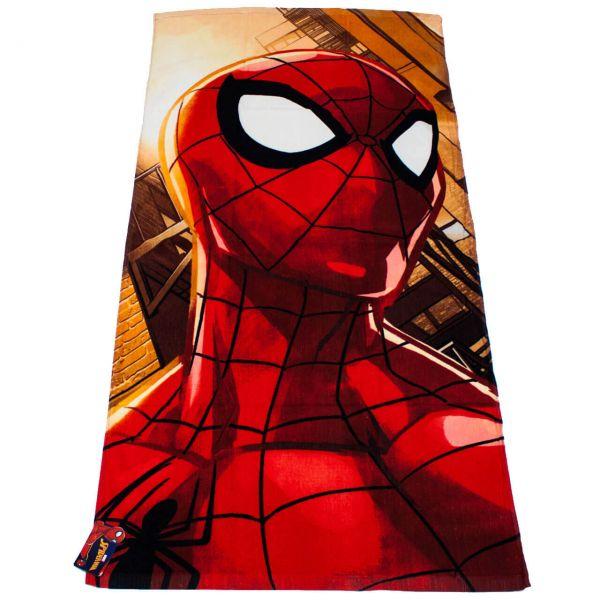 Spider-Man Badetuch Baumwolle rot