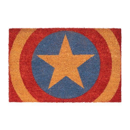 Captain America Schild Fußmatte Marvel