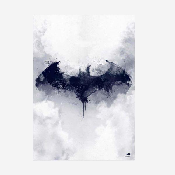 Batman Fledermaus Metall Poster DC Comics