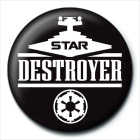 Star Destroyer Button Star Wars