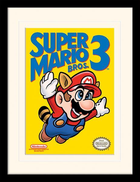 LX – Super Mario Bros. 3: Nes Cover, Gerahmt