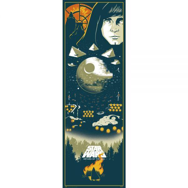 Episode VI Die Rückkehr der Jedi-Ritter Tür Poster Star Wars