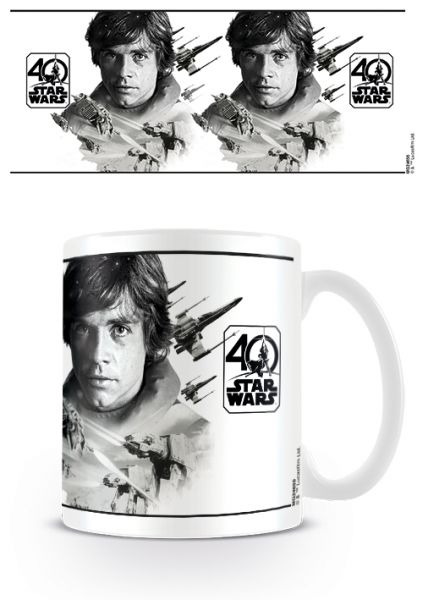 Star Wars: 40th Anniversary (Luke Skywalker), Tasse