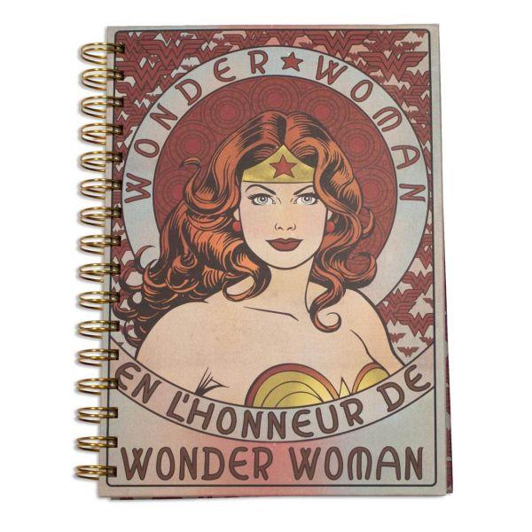 Wonder Woman Spiral Notizbuch A5
