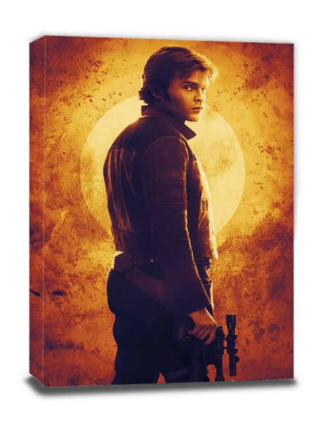Solo: A Star Wars Story (Sunset), Leinwandbild
