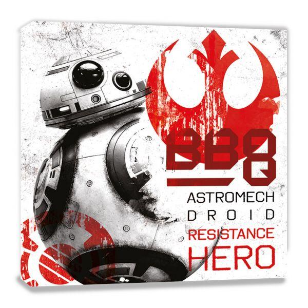Star Wars: The Last Jedi (BB-8 Resistance Hero), Leinwanddruck