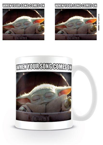 Yoda the Child When Your Song Mando Tasse Star Wars