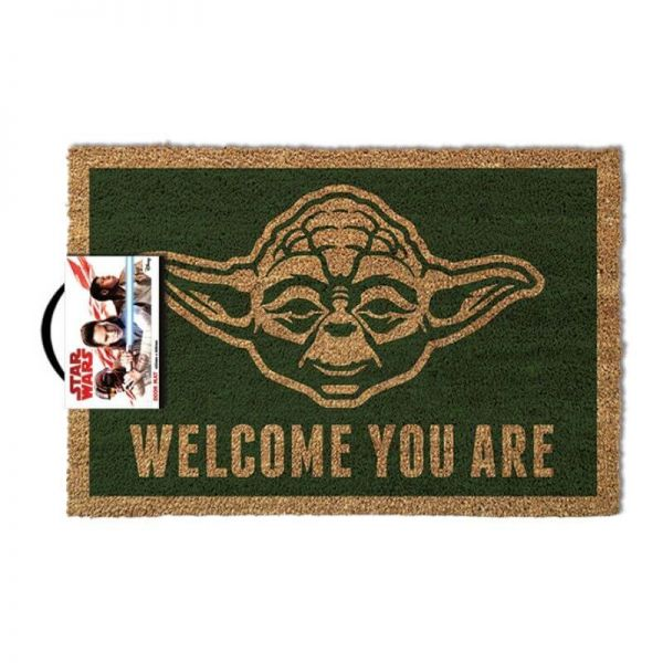 Welcome You Are Yoda Fußmatte Star Wars