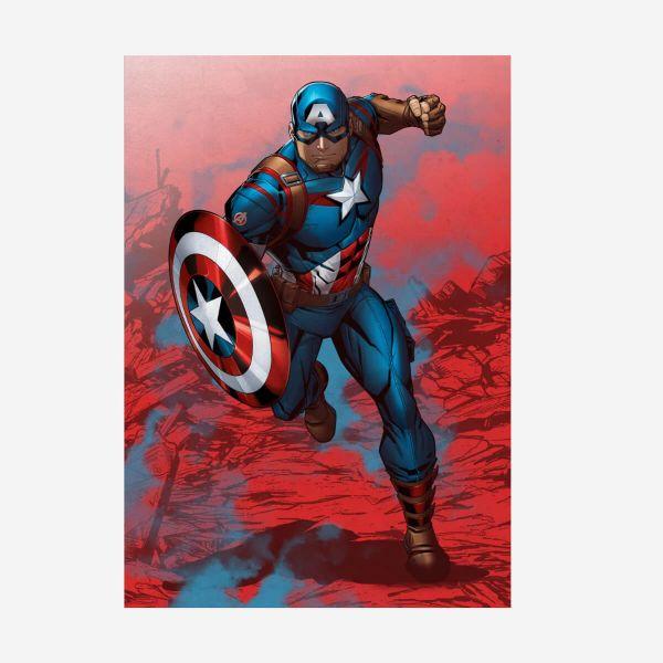 Captain America Mightiest Heroes – Metall Poster
