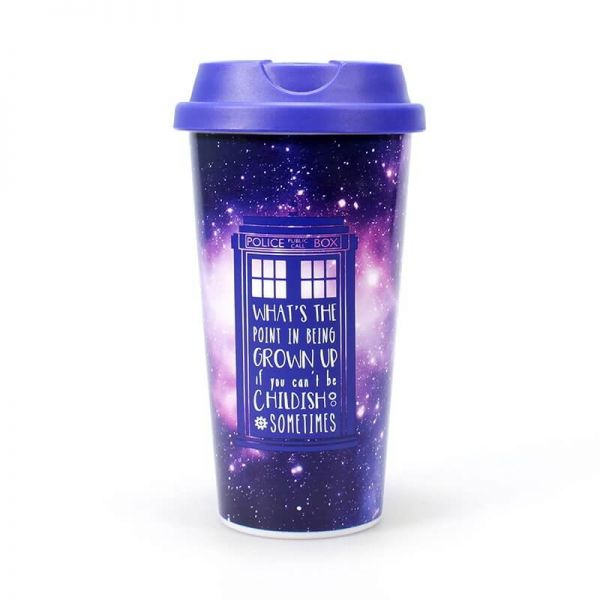 Galaxy To-Go-Becher Doctor Who